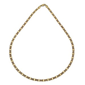 9ct Gold Fancy Collar Necklace