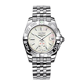 Breitling Galactic 36 ladies' stainless steel bracelet watch - Product number 8468729
