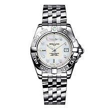 Breitling Galactic 32 ladies' stainless steel bracelet watch - Product number 8468842