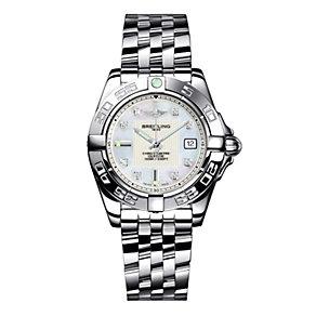 Breitling Galactic 32 ladies' stainless steel bracelet watch - Product number 8468842