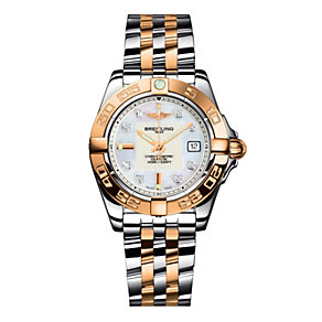 Breitling Galactic 32 ladies' two colour bracelet  watch - Product number 8468869