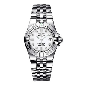 Breitling Galactic 30 ladies' stainless steel bracelet watch - Product number 8468915