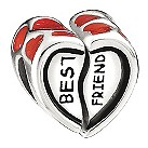 Miss Chamilia - sterling silver and enamel best friend bead - Product number 8470502