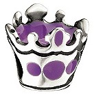Miss Chamilia sterling silver enamel her royal highness bead - Product number 8470634