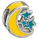 Miss Chamilia -sterling silver & enamel under the stars bead - Product number 8470766