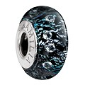 Chamilia - Radiance Murano Glass & Silver Black Shine Bead - Product number 8472068