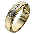 Perfect Fit 9ct Two Colour Gold Wedding Ring - Product number 8473285