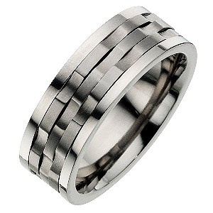 Titanium Groove Spin Ring - Product number 8476993