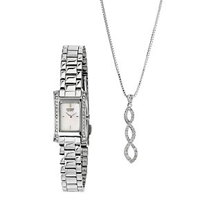 Citizen Ladies' Exclusive Pendant And Bracelet Watch - Product number 8479232