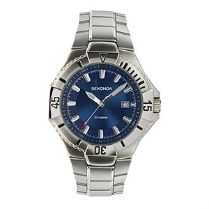 Sekonda Mens Exclusive Stainless Steel Bracelet Watch