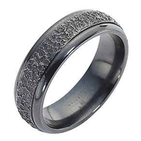 Edward Mirell black titanium ring - Product number 8481113