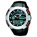 Lorus Mens Digital Black Strap Watch - Product number 8481601