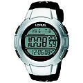 Lorus Mens Digital World Timer Strap Watch - Product number 8481628