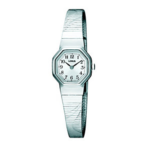 Lorus Ladies Hexagonal Dial Stainless Steel Bracelet Watch - Product number 8481687