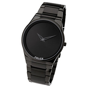 Police Black Ion Plated Bracelet Watch - Product number 8482837