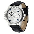 Police Men's Leather Strap Chronograph Watch - Product number 8483264