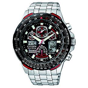 Citizen Eco-Drive Skyhawk Black Men's Chronograph Watch - Product number 8495521