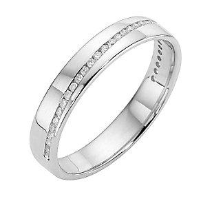 Platinum & diamond ring - Product number 8505918