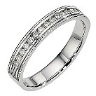 18ct white gold diamond eternity ring - Product number 8506302