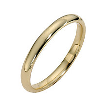 18ct yellow gold extra heavy court ring 2mm - Product number 8506841