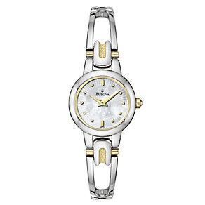 Bulova Ladies' Stainless Steel Bracelet Watch - Product number 8509417