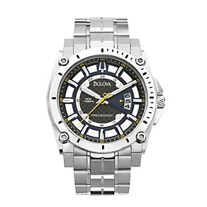 Bulova Men's Precisionist Stainless Steel Bracelet Watch - Product number 8510458