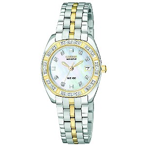 Citizen Eco-Drive ladies' diamond bracelet watch - Product number 8513767