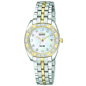 Citizen Eco-Drive ladies' diamond bracelet watch - Product number 8513767