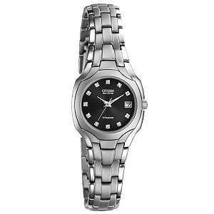 Citizen Eco-Drive ladies' titanium bracelet watch - Product number 8513775