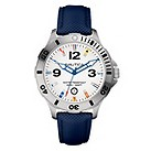 Nautica men's stainless steel bezel and navy strap watch - Product number 8515220
