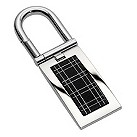 Gaventa men's black grid keyring - Product number 8519412