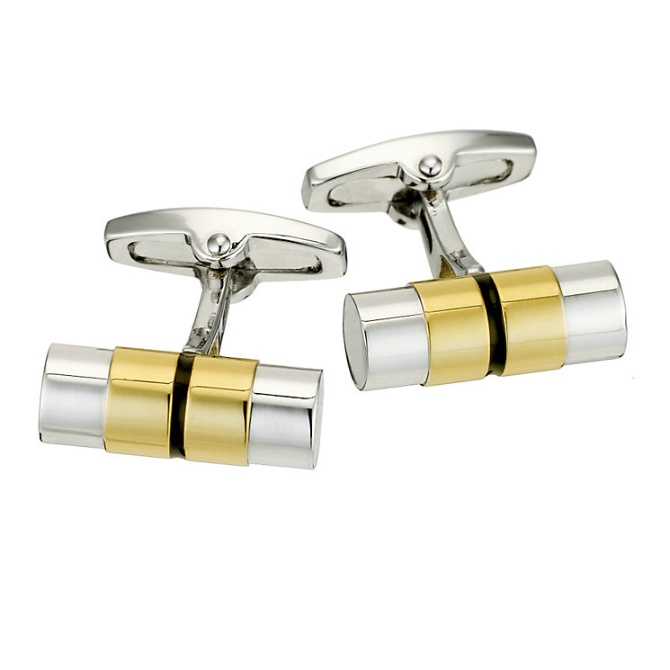 Gaventa two tone tube cufflinks - Product number 8519668
