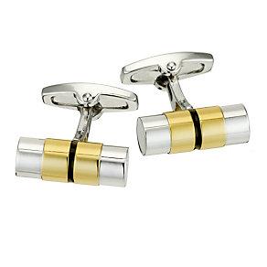 Gaventa two tone tube cufflinks - Product number 8519668