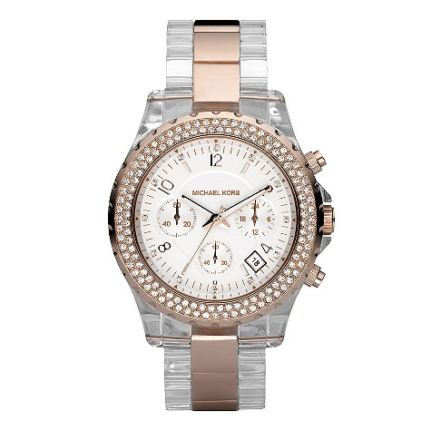 Michael Kors rose gold plated