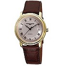 Frederique Constant men's gold plated strap watch - Product number 8530009