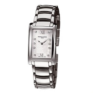 Frederique Constant ladies' stainless steel bracelet watch - Product number 8530068