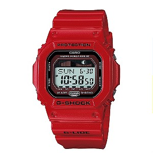 G-Shock Red G-Lide Watch