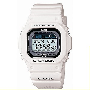 G-Shock White G-Lide Watch