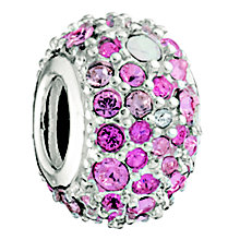 Chamilia Kaleidoscope Pink And Silver Bead - Product number 8532087