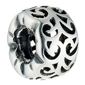 Chamilia sterling silver reverse swirl bead - Product number 8532907