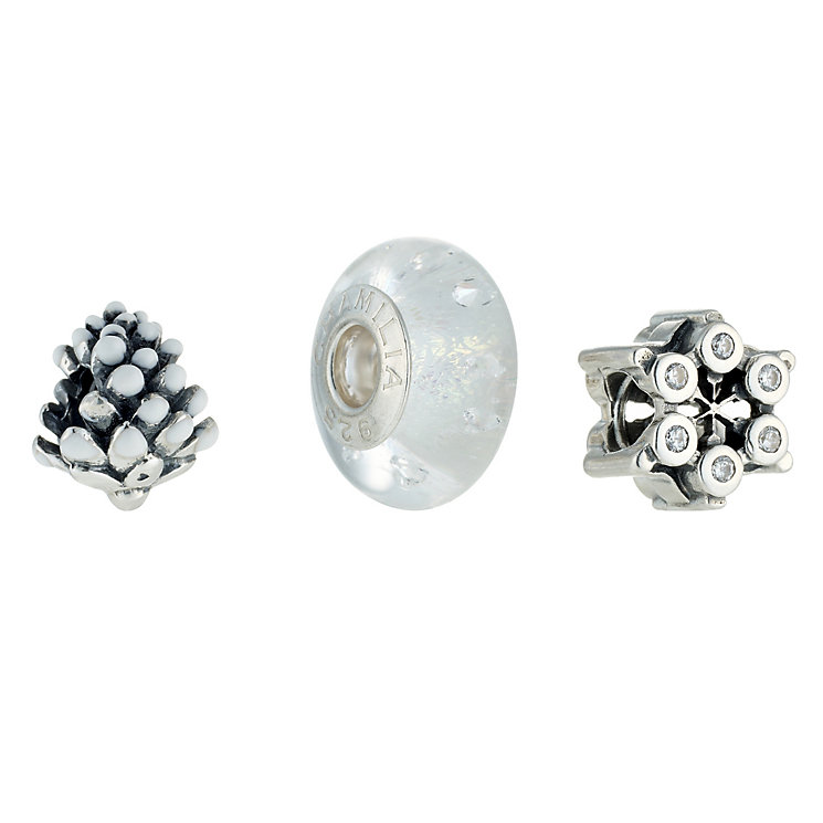 Chamilia - sterling silver three bead set - Product number 8533032