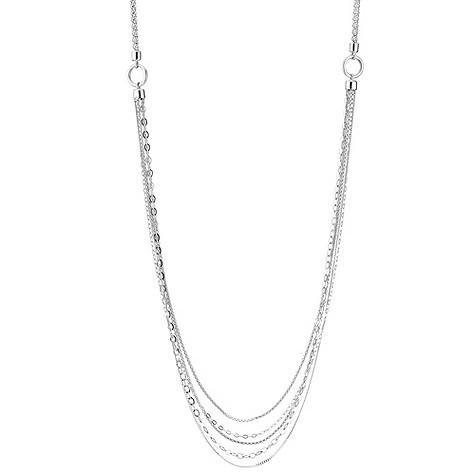 Chamilia silver multi chain 36