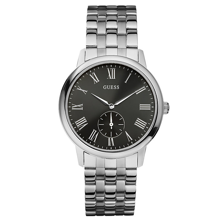 Guess Men's Black Dial Bracelet Watch - Product number 8533253