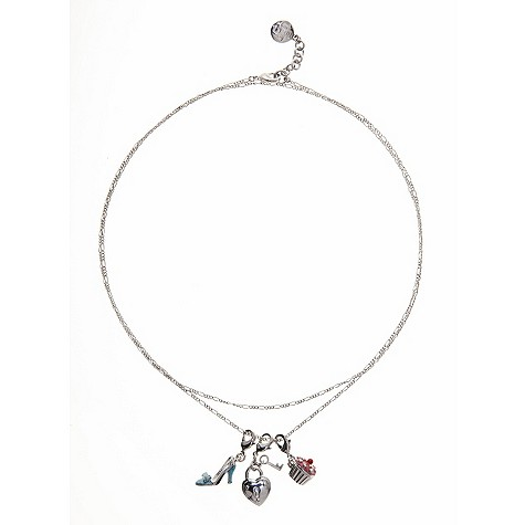 Ted Baker cupcake charm long necklace