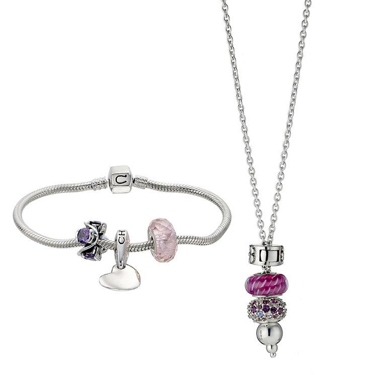 chamilia bracelet and necklace box set ernest jones