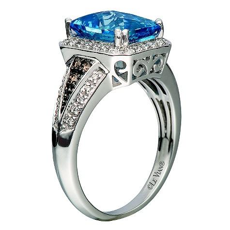 Le Vian 14ct white gold 19pt diamond