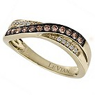LeVian 14CT Gold Quarter Carat Chocolate Diamond Ring - Product number 8539480