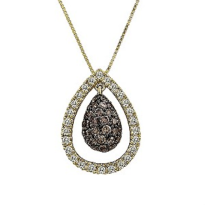 LeVian 14CT Gold 0.75CT Chocolate Diamond  Pendant - Product number 8540918