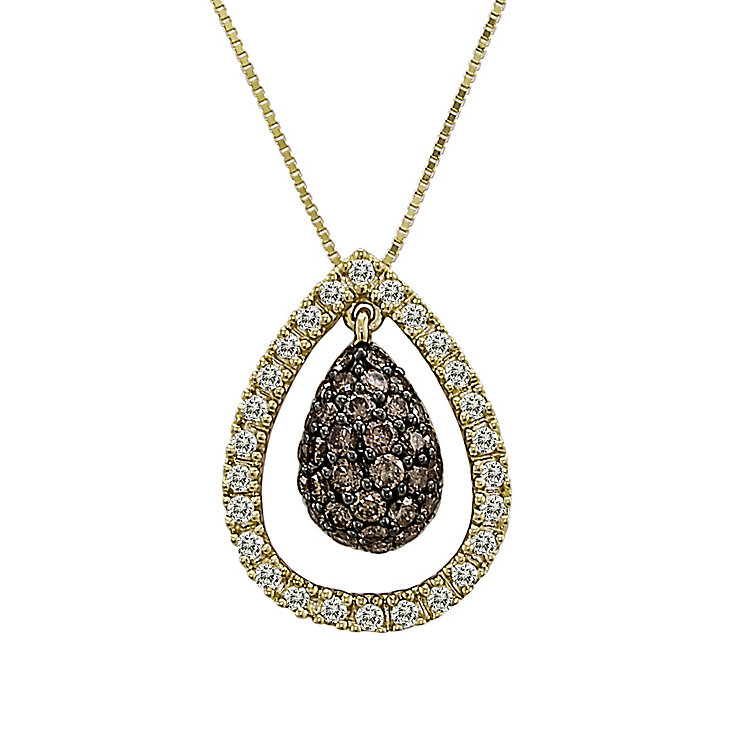 Le Vian 14CT Gold 0.75CT Chocolate Diamond®  Pendant - Product number 8540918