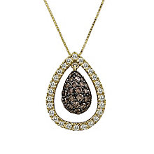 Le Vian 14CT Gold 0.75CT Chocolate Diamond  Pendant - Product number 8540918